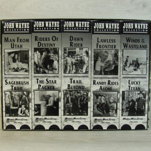 "Collection VHS ""John WAYNE"""