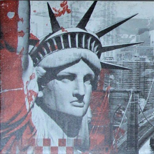 TOILE DÉCORATION DE NEW YORK.