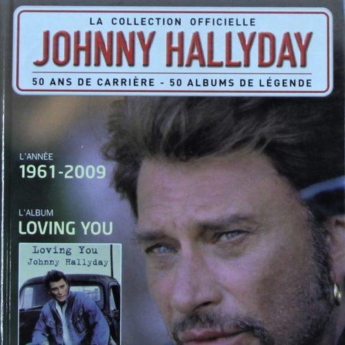 "LOT DE 3 LIVRES ""JOHNNY HALLYDAY""."