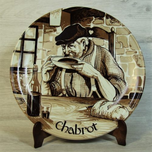 Assiette Chabrot.