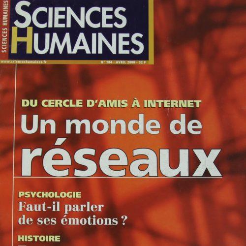 "38 MAGAZINES "" SCIENCE HUMAINE."""