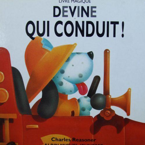 "Livre Magique ""DEVINE QUI CONDUIT !"""