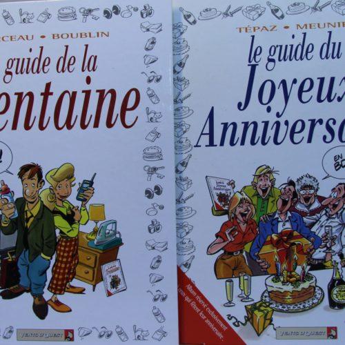 """Lot de 2 BD's """"le guide…"""""""