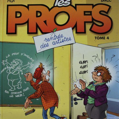 """Lot de 2 bd """"Les profs""""."""