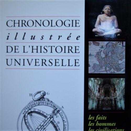 Chronologie illustrée de l'histoire universelle.